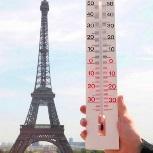 2018 année la plus chaude à Paris et Besançon