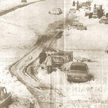Fin décembre 1970 : chaos sous la neige en vallée du Rhône