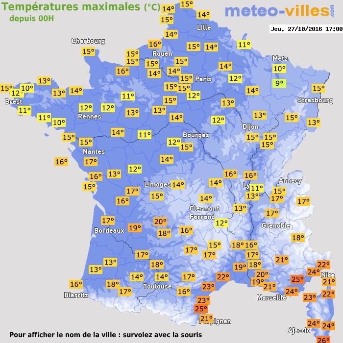 Toulouse pr visions m t o 15 jours le premier site for Meteo aix les s bains 5 jours